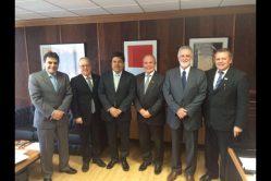Reunião no Ministério da Educação - com o ministro, secretários e deputados federais