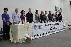 Cerimônia marca os 40 anos do Programa de Pós-Graduação em Ciência do Solo