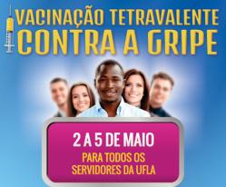 UFLA anuncia vacinação contra gripe para servidores e terceirizados