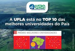 Guia do Estudante avalia UFLA como a 8ª melhor universidade pública do Brasil e 2ª de Minas Gerais