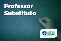 Inscrições abertas para seleção de professor substituto