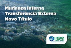 UFLA publica edital de Mudança Interna, Transferência Externa e Novo Título para 2018/2