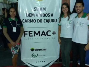 1ª FEMAC+ de Carmo do Cajuru MG
